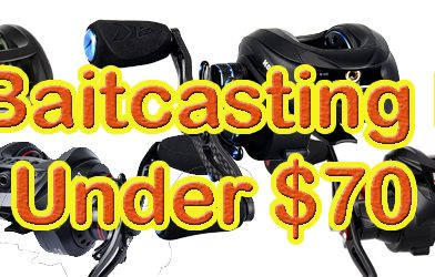 Best Budget Baitcasting Reels Featured Reels
